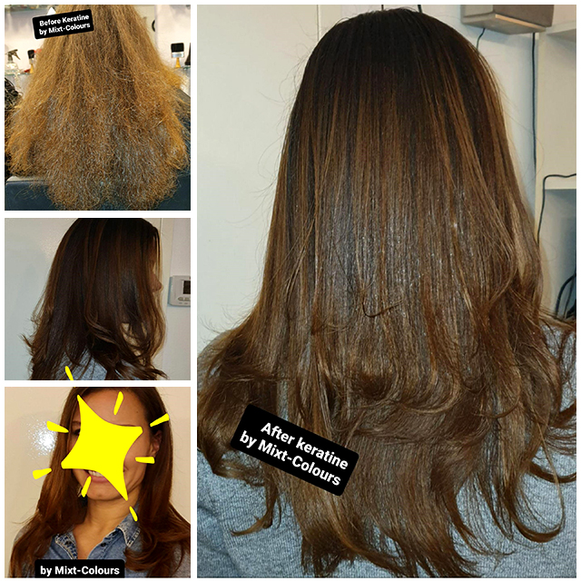 keratine behandeling straighten